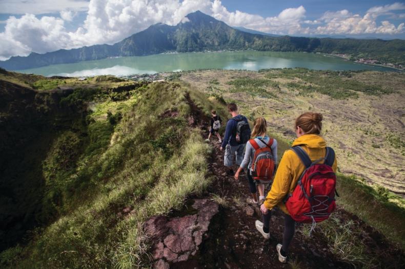 Hike In Bali