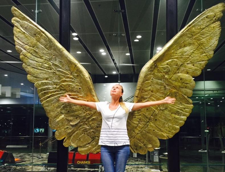 Singapore Airport has plenty of picture locations. Photo credit: Anna Ivanova
