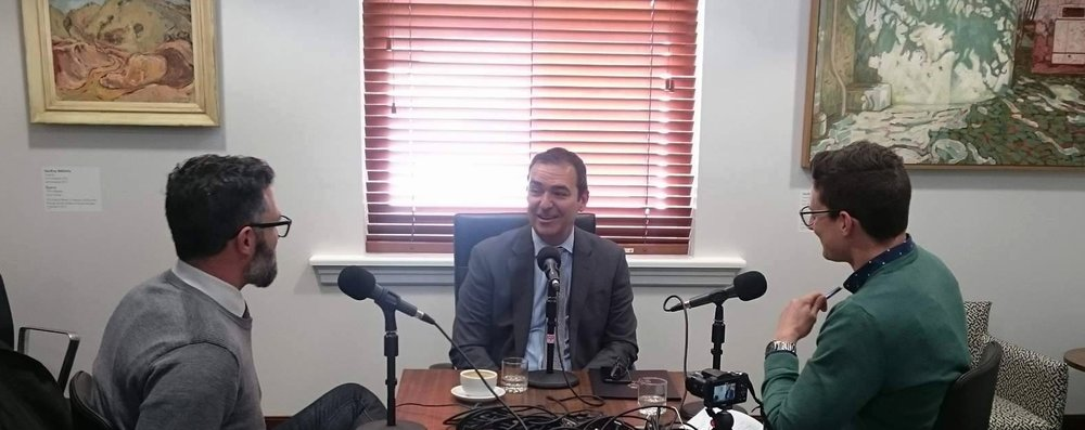 Leader of the Liberal Party of South Australia, Steven Marshall on Rooster Radio