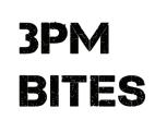 3PM Bites Logo