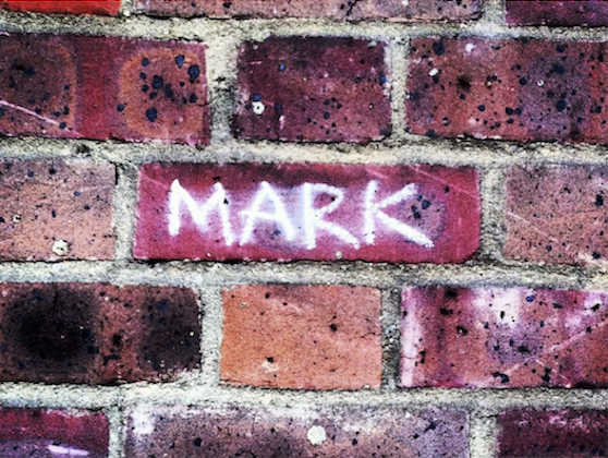 Why was my name written in chalk outside Sadler's Wells?