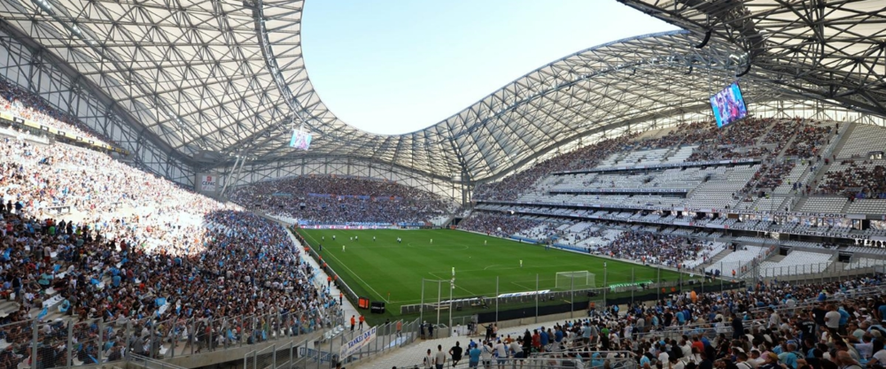 Inside the Stade Vélodrome. Image from essma.eu