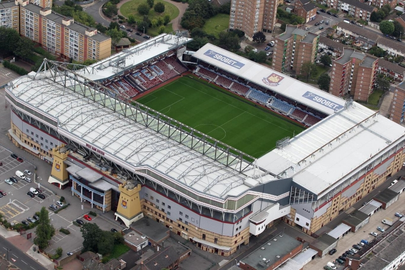 West Ham's former stadium. Image via standard.co.uk