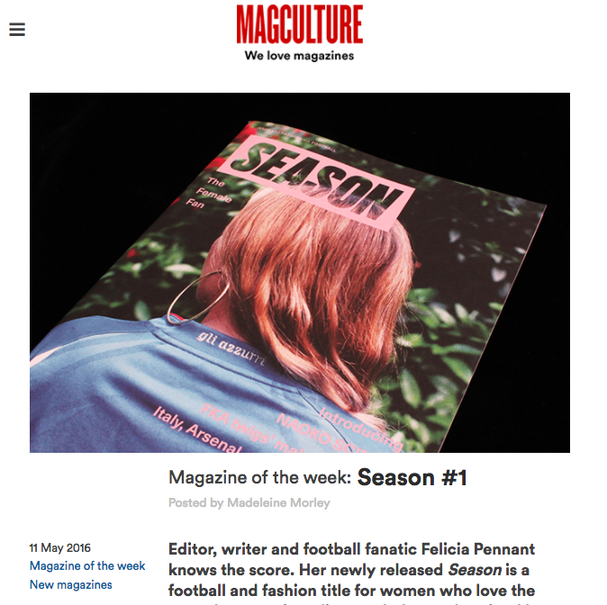 MAY 2016  | MAGCULTURE