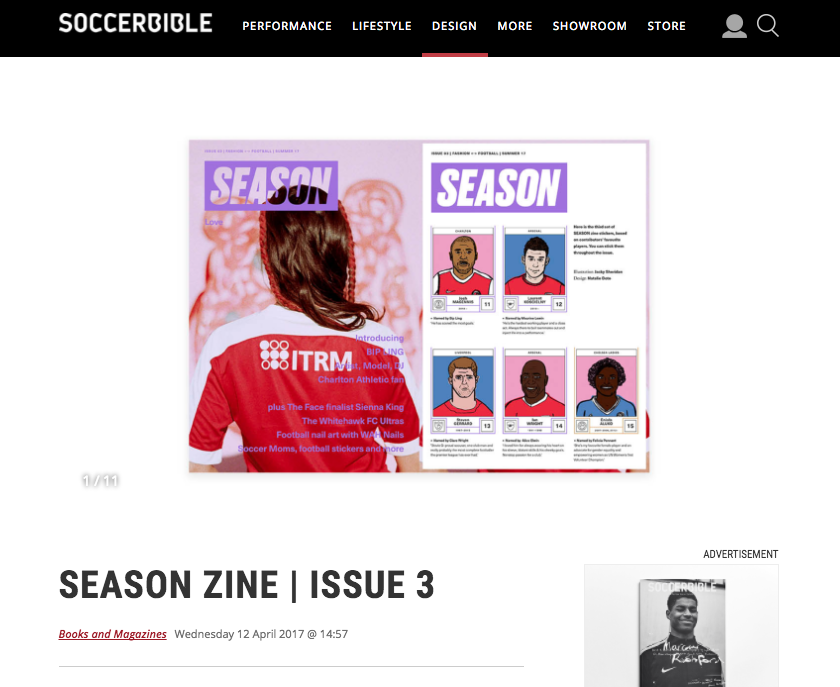 APRIL 2017  | SOCCERBIBLE