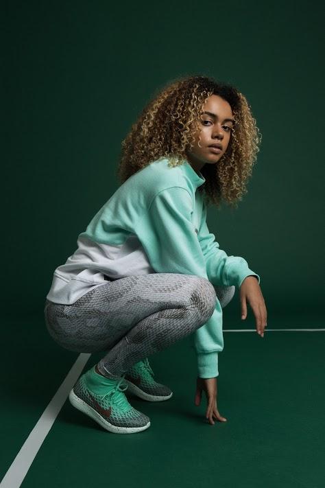 Jumper, Umbro X HOH |Leggings, Varley |Trainers, Nike