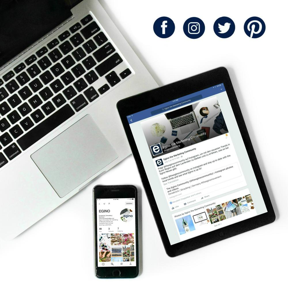 Egino Social Media
