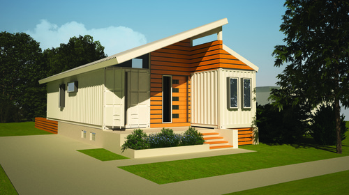 As this model's name suggests we Transcend conventional construction with  shipping container architecture to create a home fit for a small family  from ...