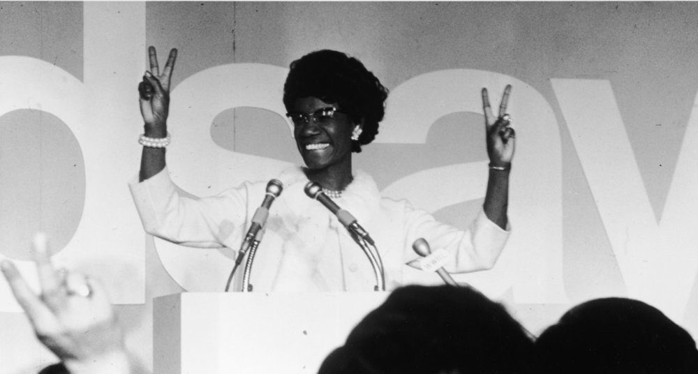 SHIRLEY CHISOLM