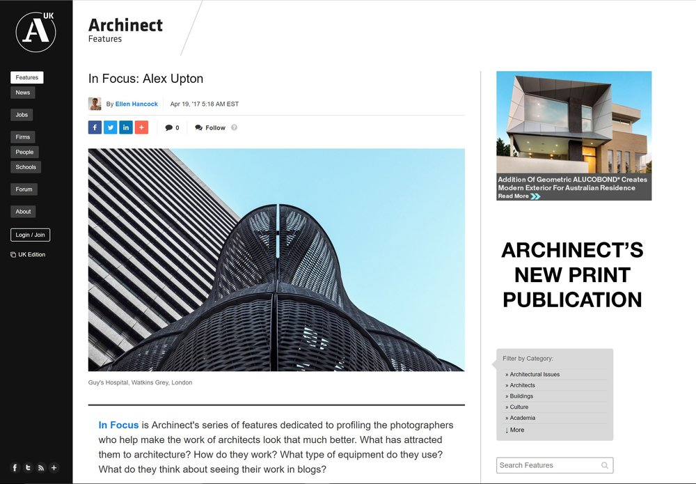 Alex Upton Architectural Photographer Archinect Interview