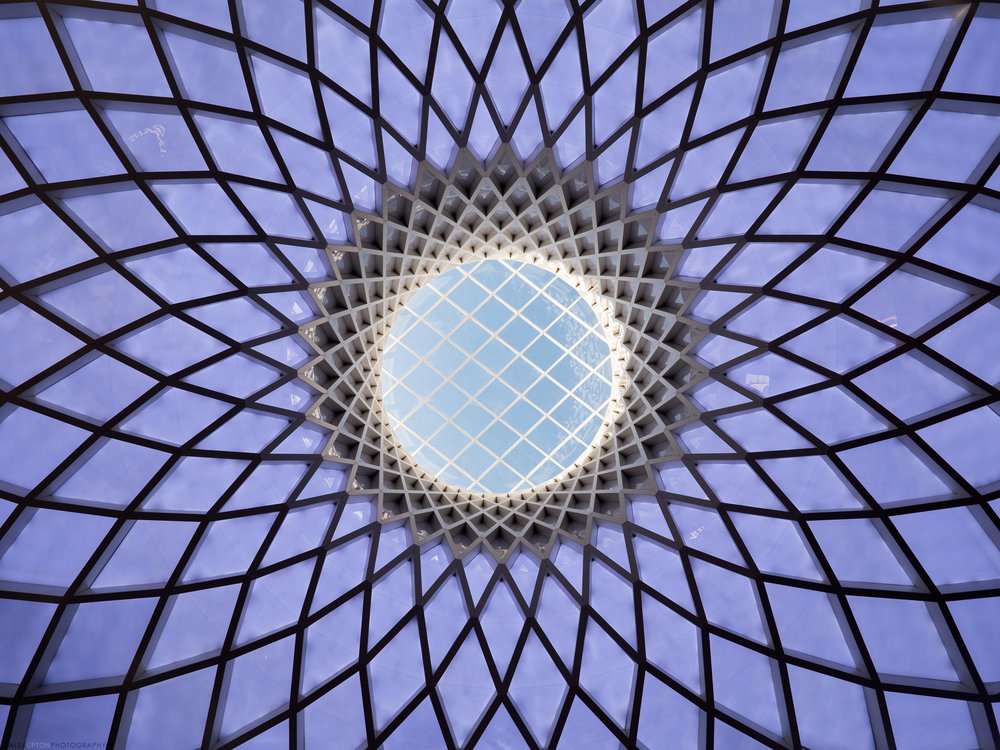 Victoria Gate Lattice Roof Detail. Photography: Copyright © Alex Upton