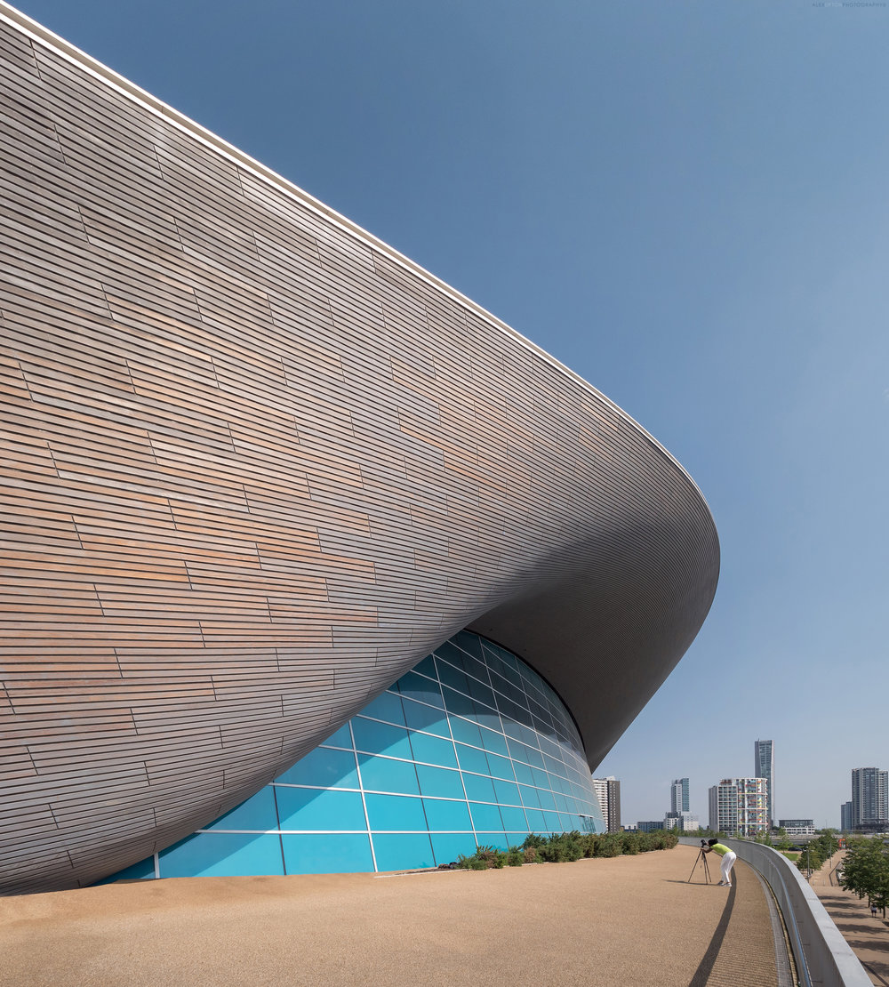 London Aquatics Centre by Zaha Hadid 2012. Photography: Copyright © Alex Upton
