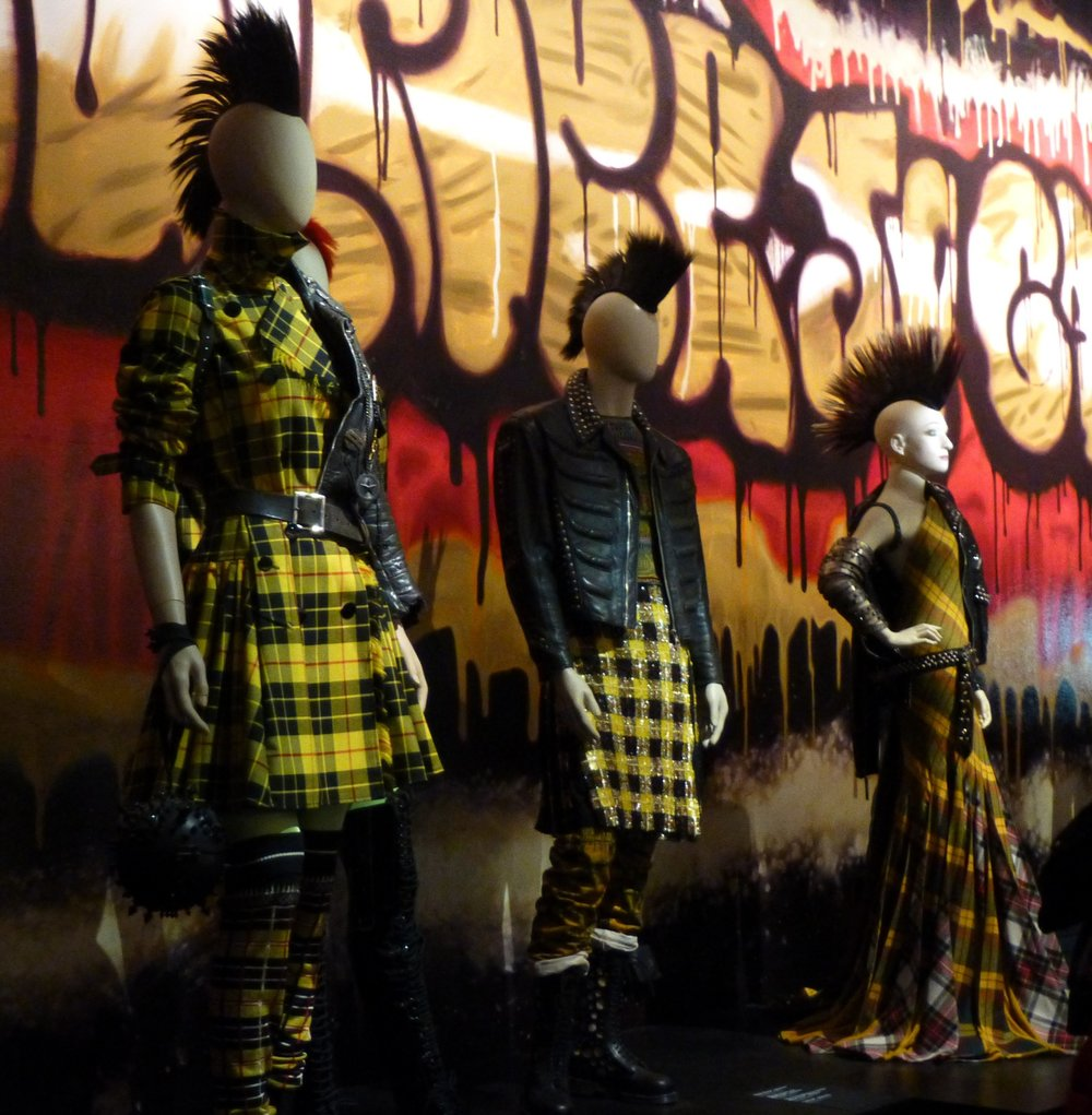 Jean Paul Gautier, 'The Fashion World of Jean Paul Gaultier : From the Sidewalk to the Catwalk' at the Barbican Art Gallery London in 2014.