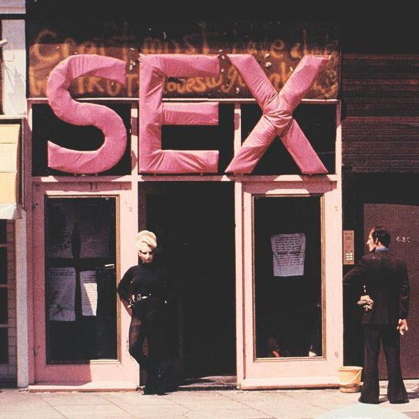 SEX boutique, Kings Road, circa 1970s