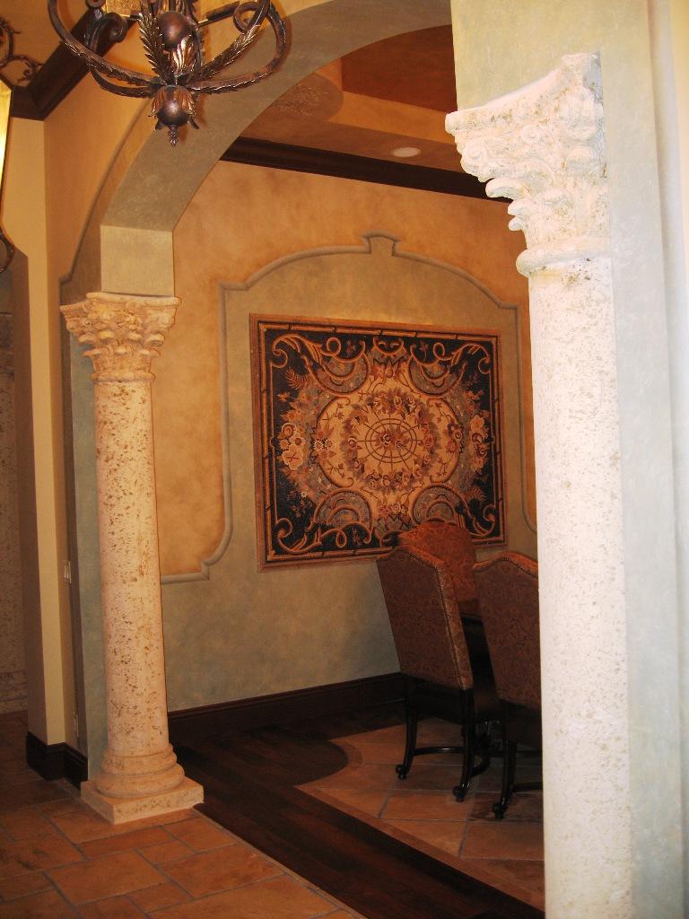 Mediterranean Dining Room Fort Lauderdale Weston Parkland Broward
