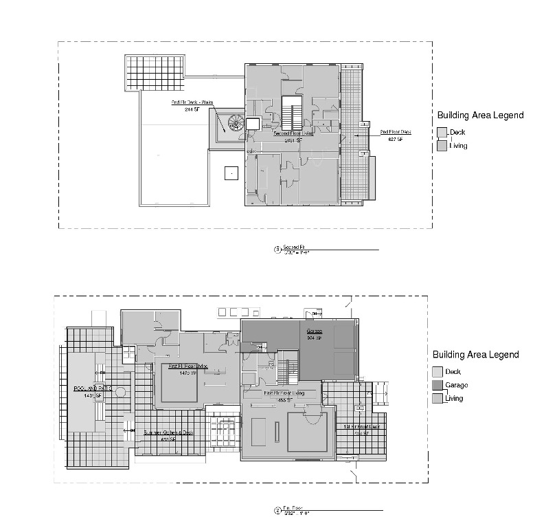 contemporary floor plan on Las Olas