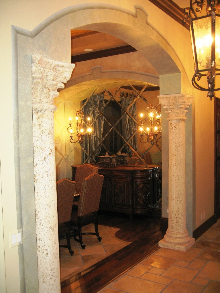 Traditional Mediterranean style interior designers in Boca Raton, Mizner county club