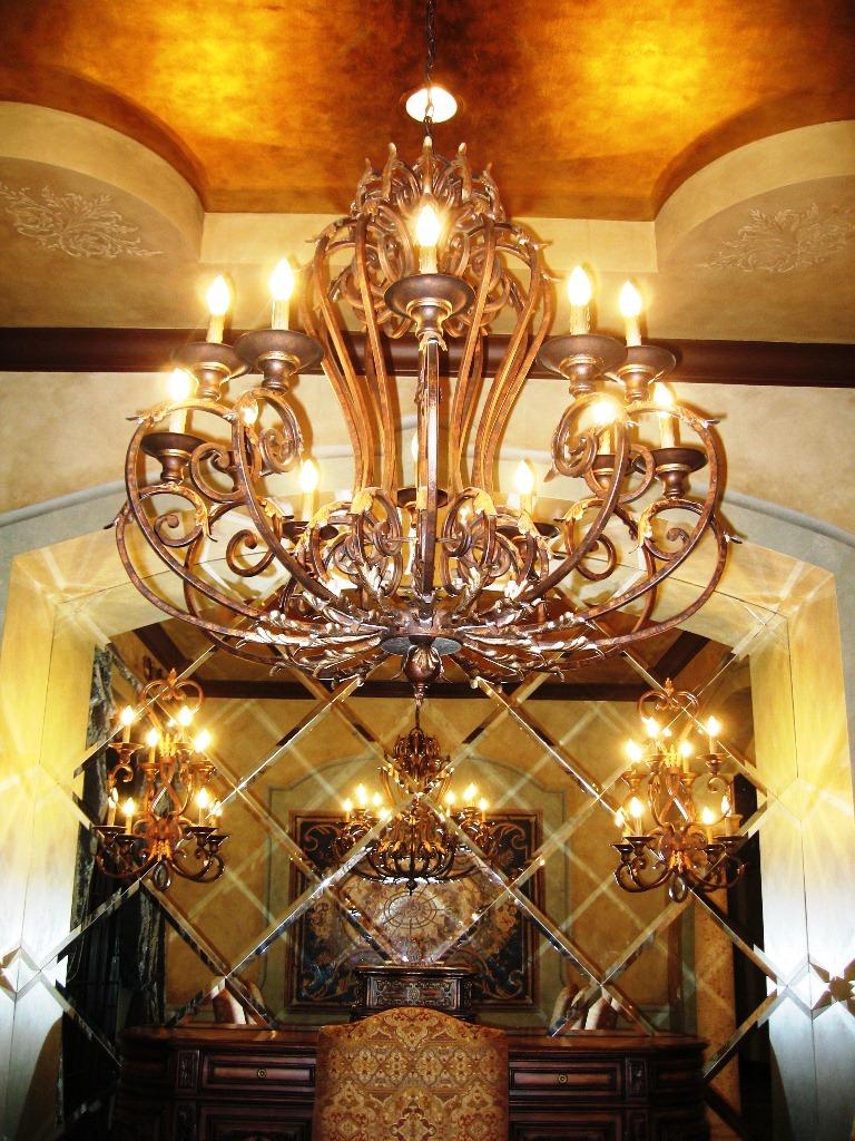 Mediterranean Spainish mizner style interior design Parkland