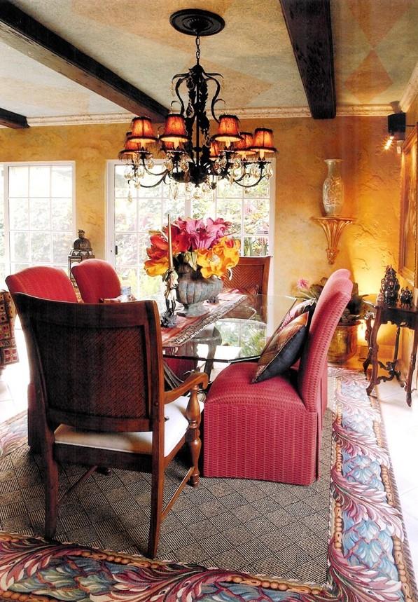 mediterrean-dining-room-wood-ceiling-beams.jpg