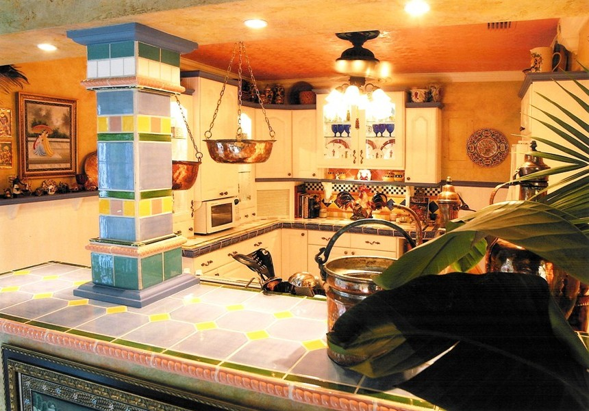 Mediterranean-colorful-tile-tin-ceiling-kitchen-remodeling.jpg