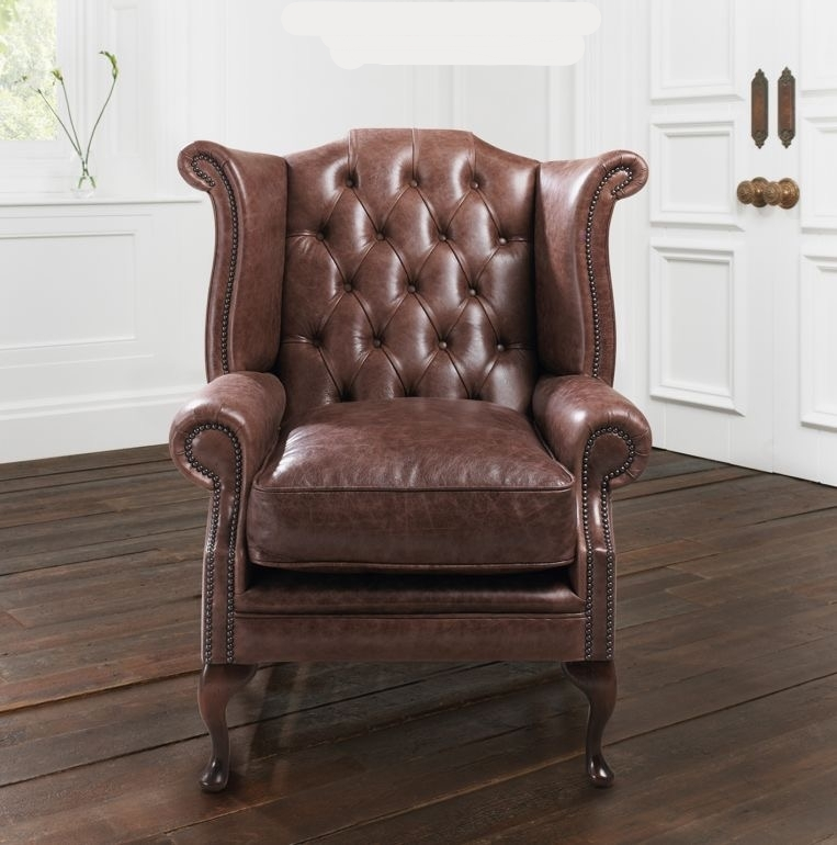 Newby Queen Anne Wing Chair