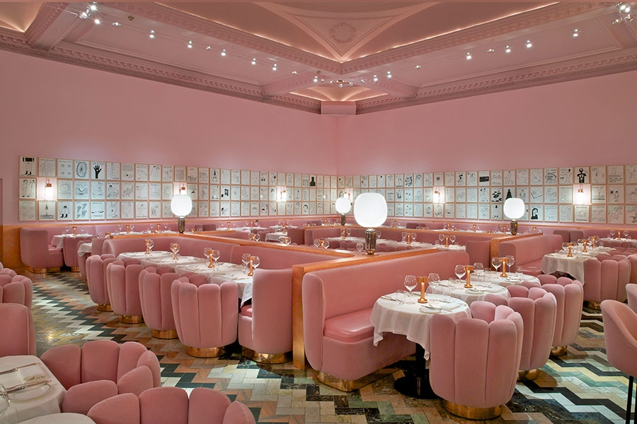 India Mahdavi - Award winning Restaurant Design, Londres, UK