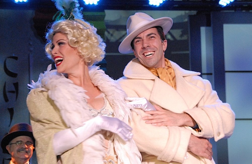 as Lina Lamont with Matt Tiberi as Don Lockwood Singing in the Rain.jpg