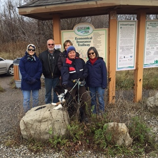 We have started enjoying some of the K-W's less travelled footpaths. It's a great way to enjoy what nature has to offer along the various trails that wind through our community.
