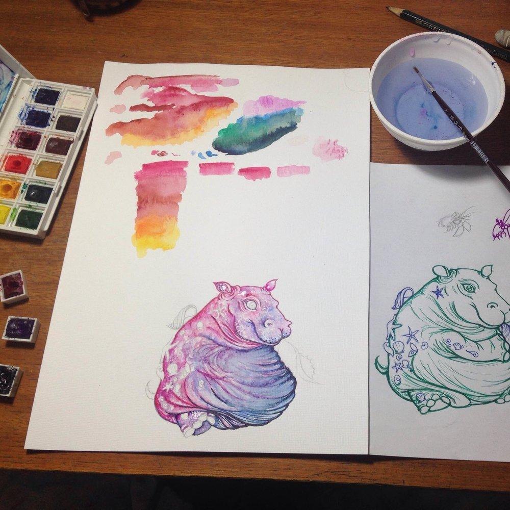 vagalumia hipopotamo