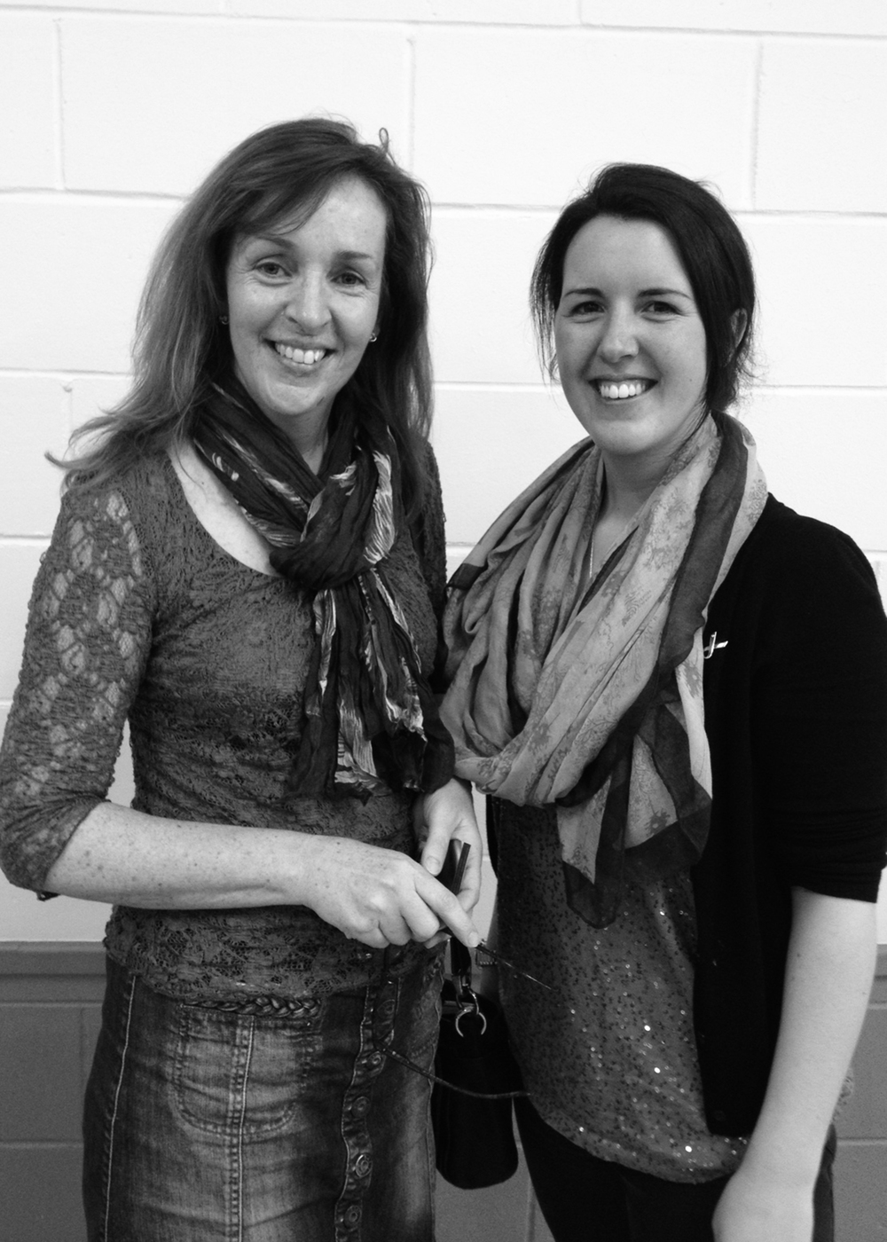 Guest presenter, Emily Hancock (on the right) and I, at her talk on The Business of Equine Photography, held by The Royal Photographic Society Thames Valley Digital Imaging Group, March 2014