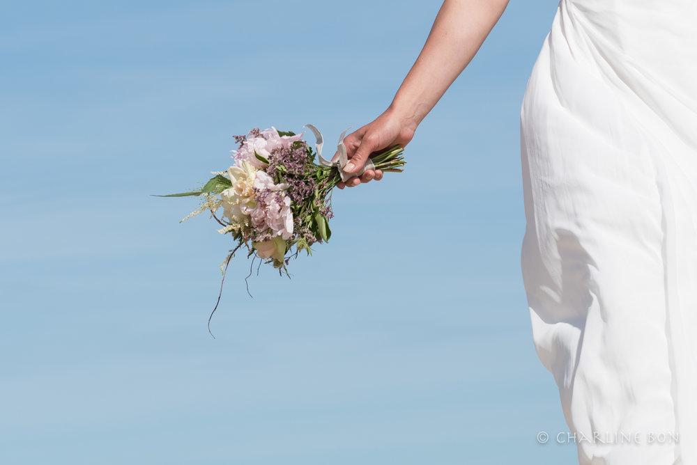 Mariage - Le bonheur ça rend beau, il suffit de savoir le capturer au vol!