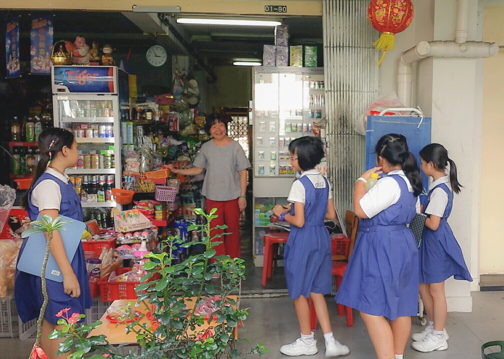 Chit-chat with residents and shopkeepers in Jalan Kukoh