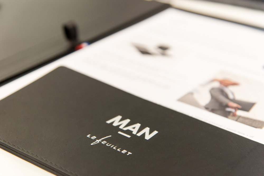 We produced a folio in collaboration with MAN for SS17 show.