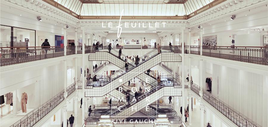 Au Bon Marchédu 3 au 31 décembre 2016 Personnalisez votre maroquinerie Le Feuillet sur place à l'aide de notre technique de gravure laser. Le Bon Marché 24 Rue de Sèvres, 75007 Paris