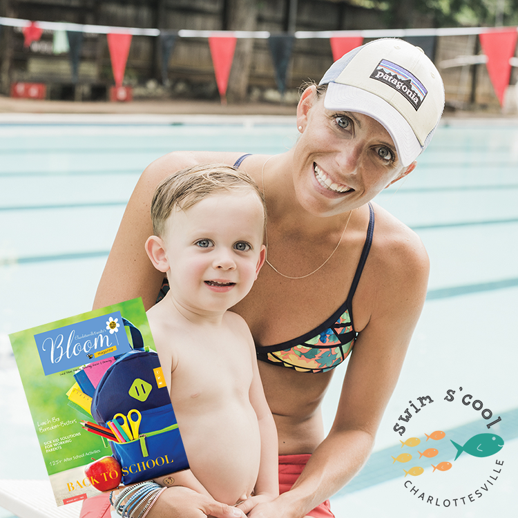 SWIM S'COOL featured in Charlottesville Family Magazine! - We're rated best swim lesson for back to school in Charlottesville, VA!