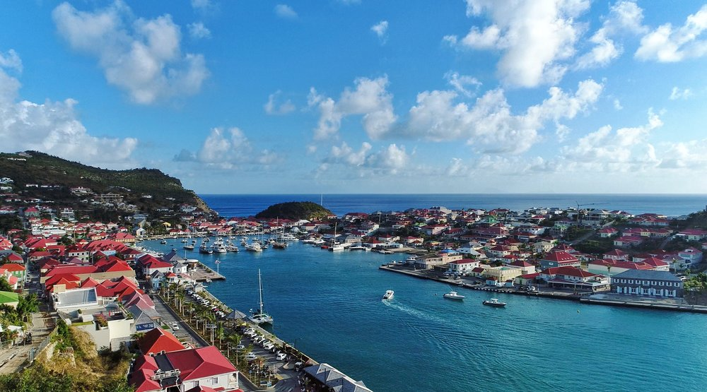 Gustavia Harbor, St. Barth's. Shot on DJI Phantom 4 Pro. All images in this blog post are my own!