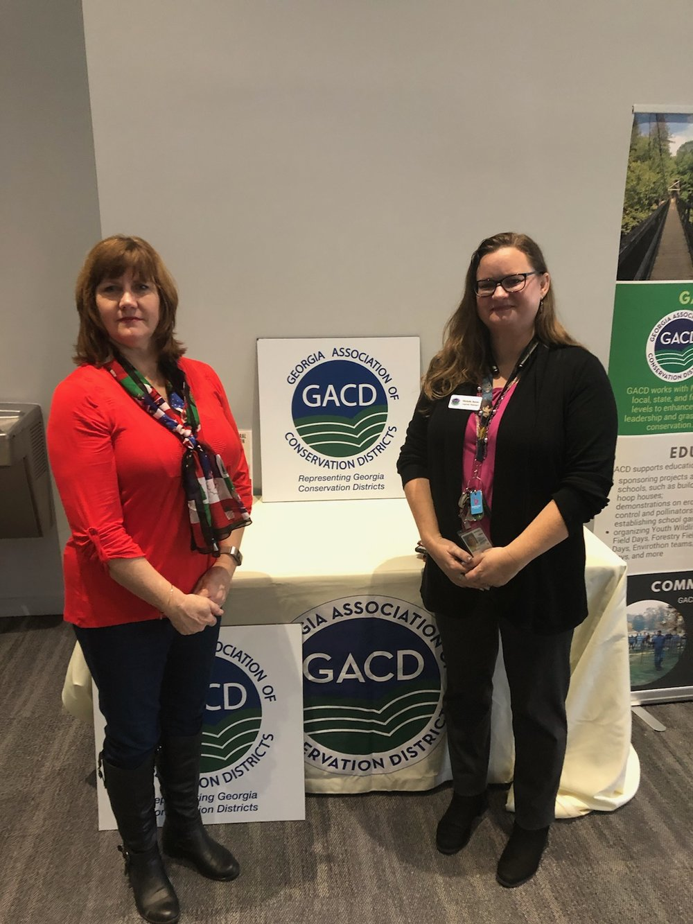 Cindy Drew, GA Farm Bureau of Dougherty County & Michelle Boone, GACD Program Manager