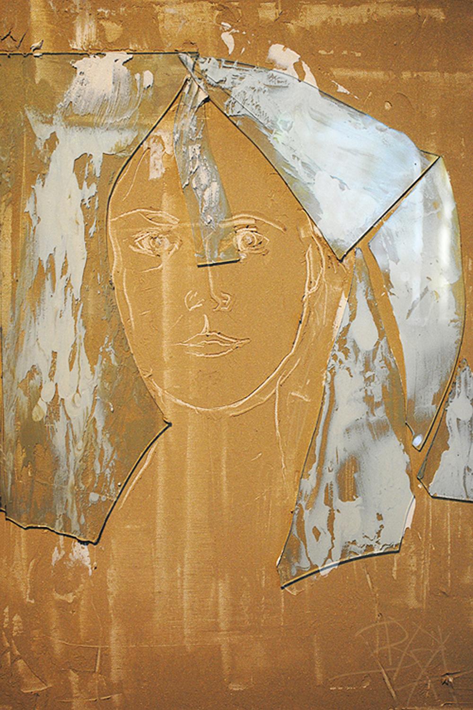 Broken & Blindly Striving Self Portrait