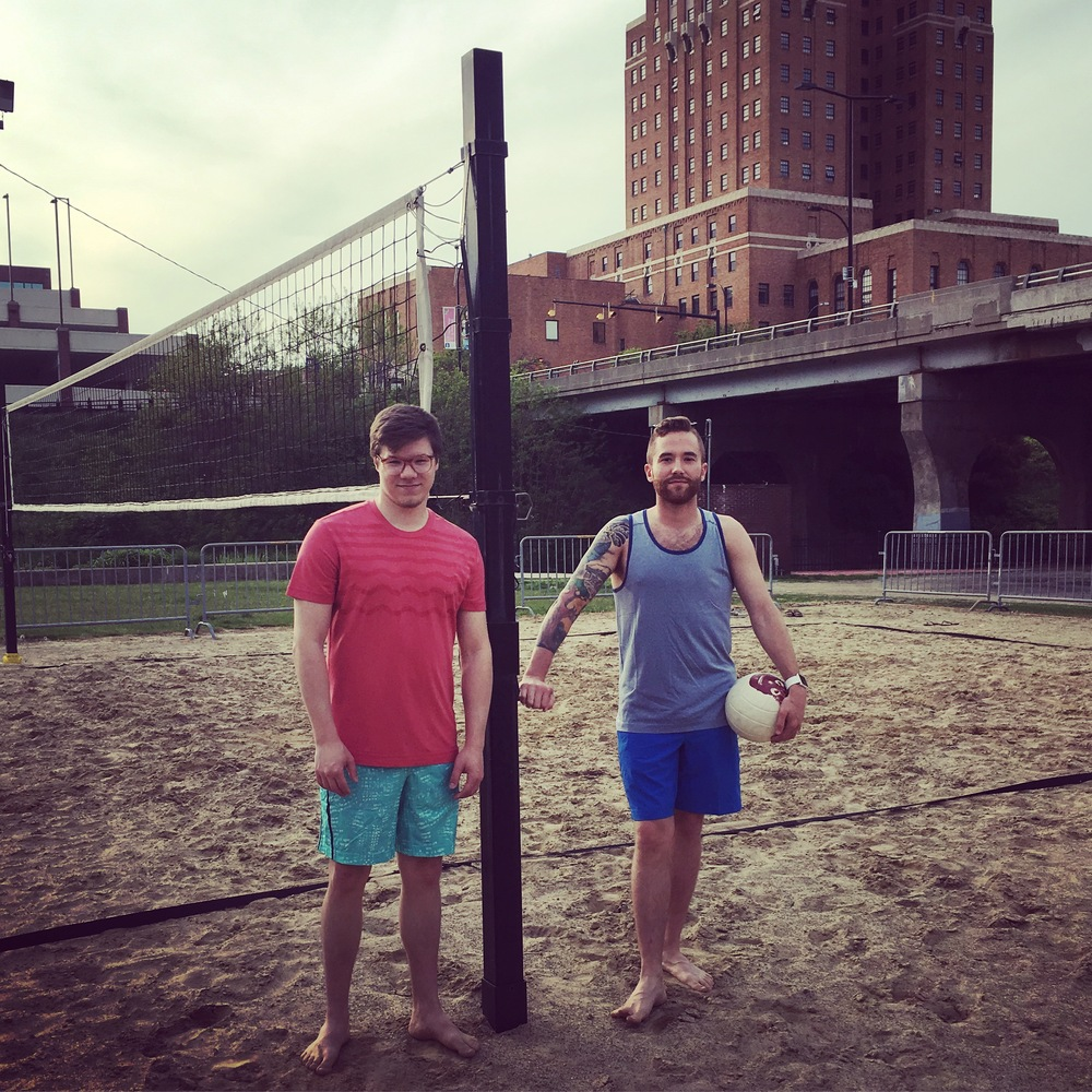 Andrew Novak and Logan Jennings formed Stay in Play Recreation in the Spring of 2016 to have fun and connect the greater Akron community through adult co-ed sports leagues.