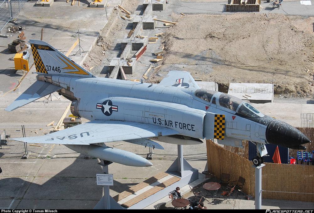 Photo of McDonnell Douglas F-4 Phantom II Photo Copyright by Tomas Milosch from Planespotters.net