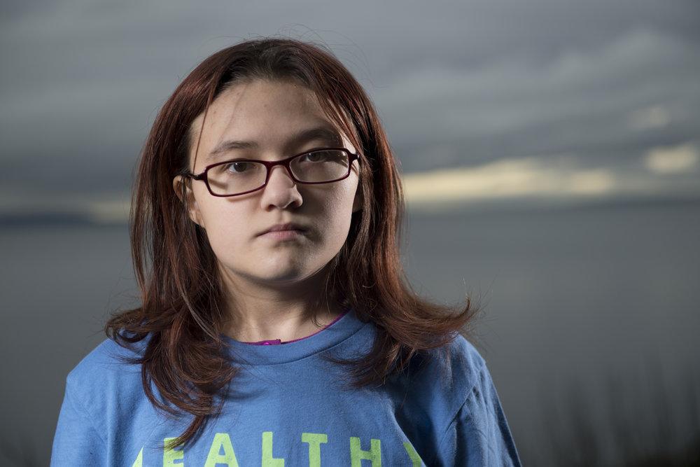 Lara, 15, from Seattle