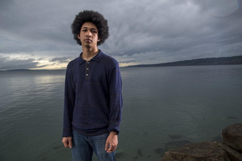 Aji, 18, from Seattle