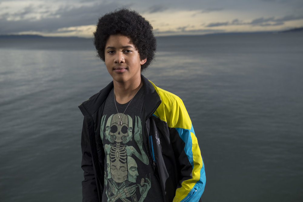 Adonis, 14, from Seattle