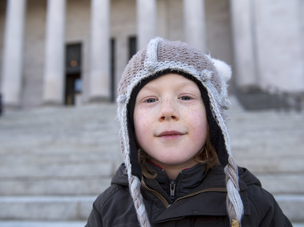 Bohdi, 7, from Seattle