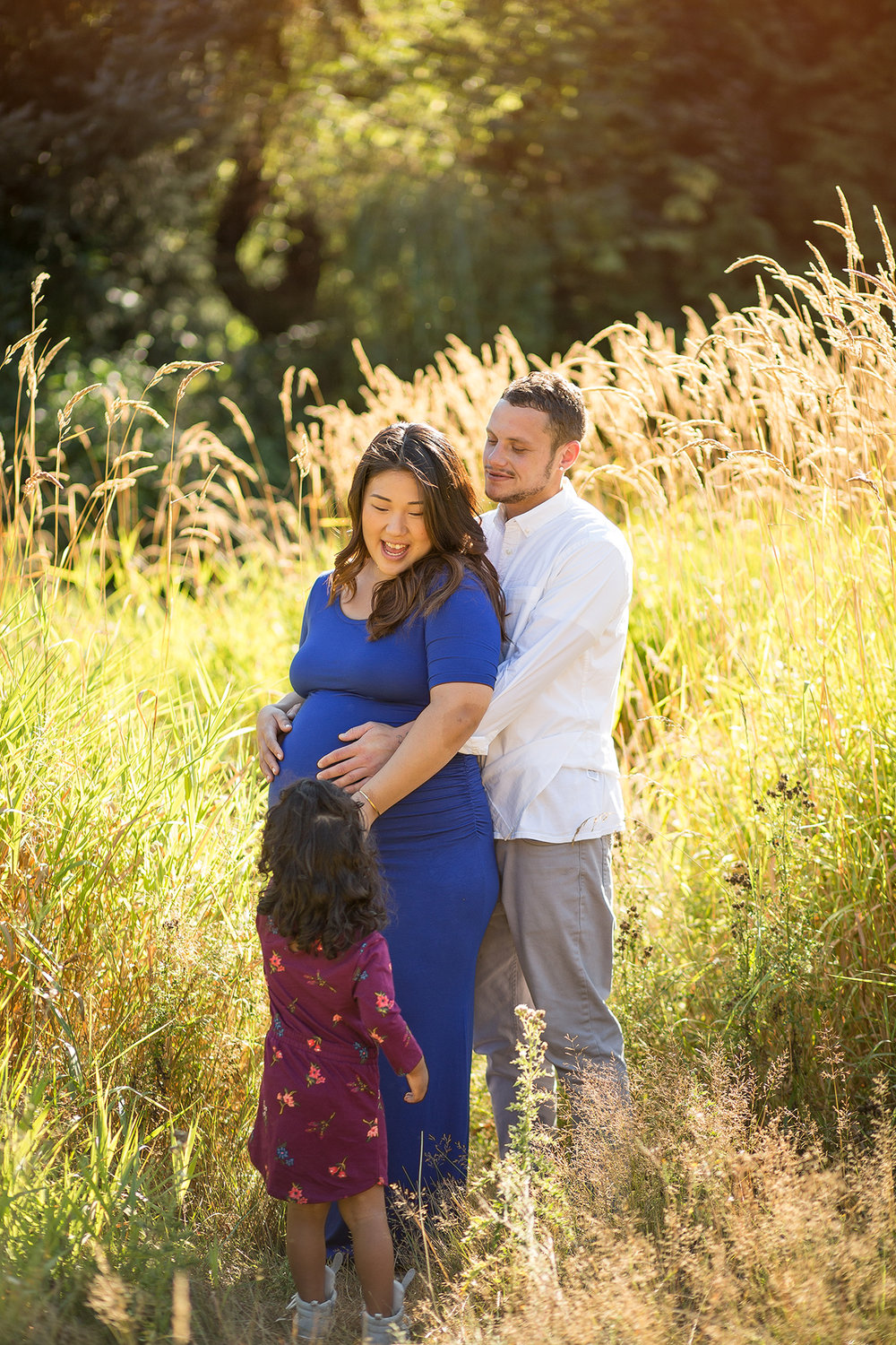 seattle maternity photographer entwined portraits