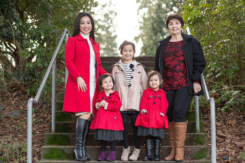 Seattle and Bellevue Family Photos Entwined Portraits Family Pho