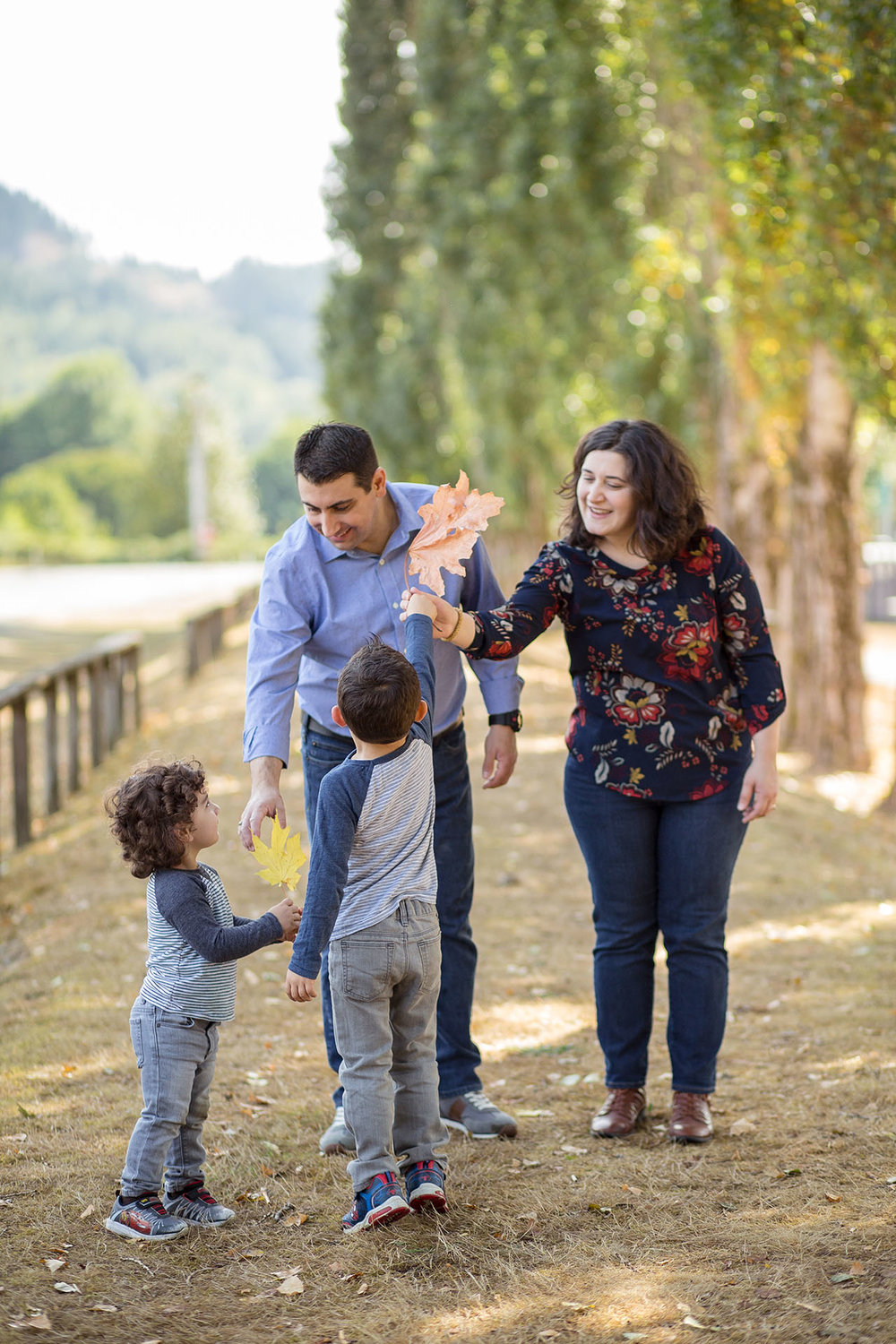 Family Photographers in Bellevue WA Entwined Portraits