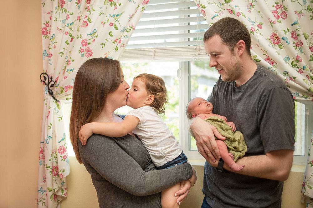 Seattle and Bellevue Newborn Baby Photographer