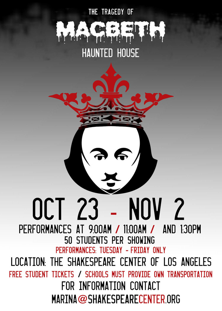 free student tickets the shakespeare center of la