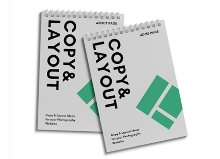 Copy & Layout Guide for SEO - 2 Copy & Layout guides to help you learn about the right type of content to add to your homepage and your about page. Captivate your clients with copy that's authentically YOU without being sleazy or sales-y.